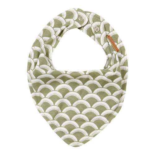 Picture of Bandana bib Sunrise Olive