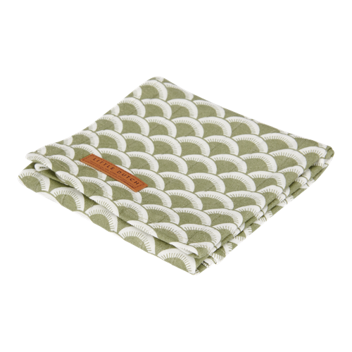 Musselintuch Swaddle 120 x 120 Sunrise Olive