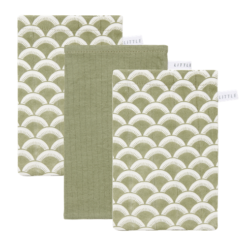 Picture of Washcloths set Sunrise Olive