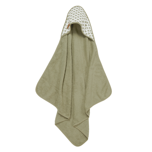 Picture of Hooded towel Sunrise Olive