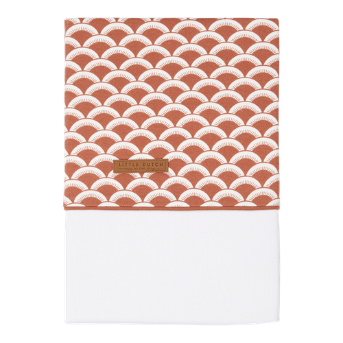 Picture of Bassinet sheet Sunrise Rust