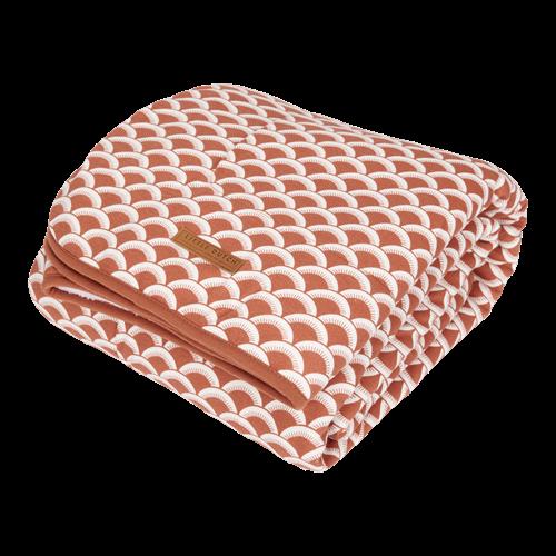 Couverture de lit bébé Sunrise Rust