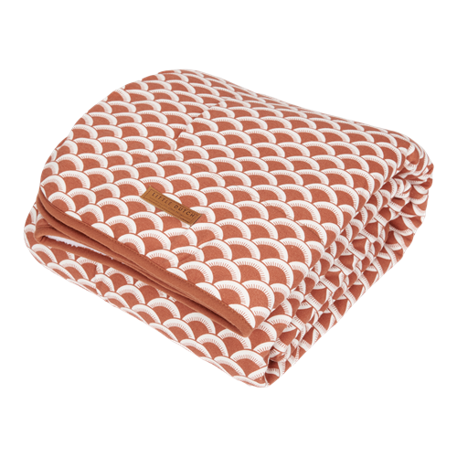 Picture of Cot blanket Sunrise Rust