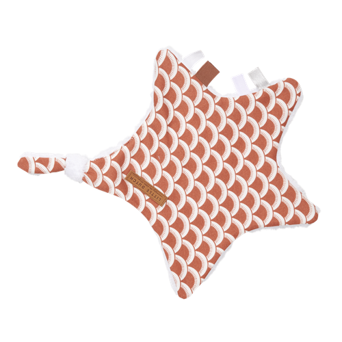 Picture of Cuddle cloth, star Sunrise Rust