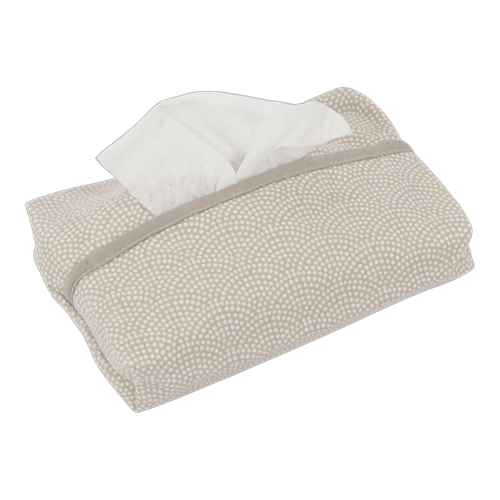 Picture of Baby wipes cover Beige Waves
