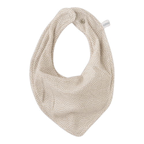 Picture of Bandana bib Beige Waves