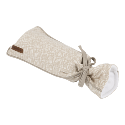 Picture of Hot-water bottle cover Beige Waves