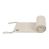 Picture of Cot bumper Beige Waves
