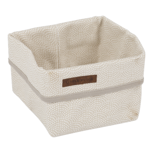 Picture of Storage basket, small Beige Waves