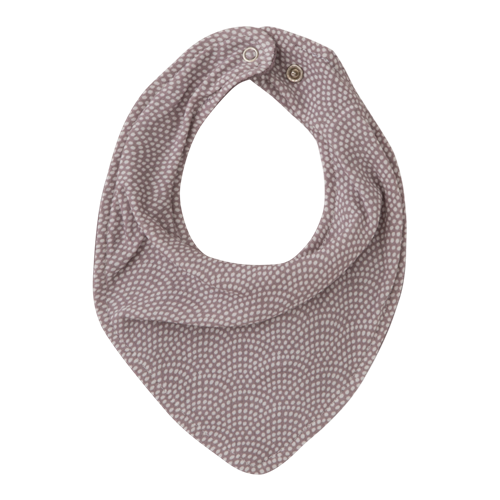 Picture of Bandana bib Mauve Waves