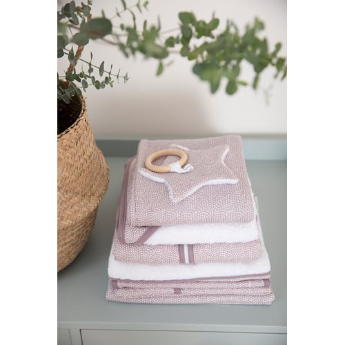Picture of Pacifier cloth Mauve Waves