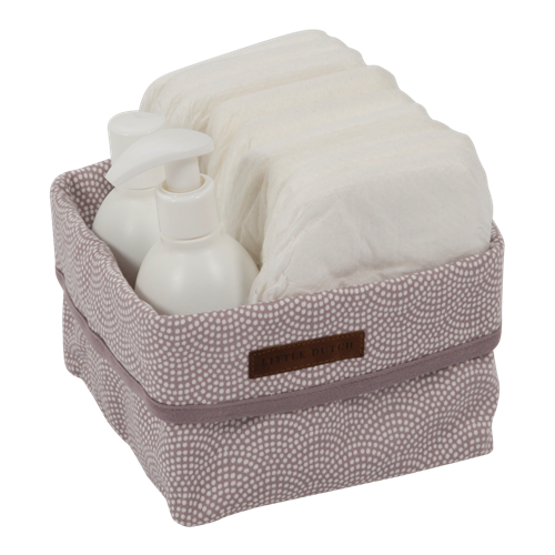 Picture of Storage basket, small Mauve Waves
