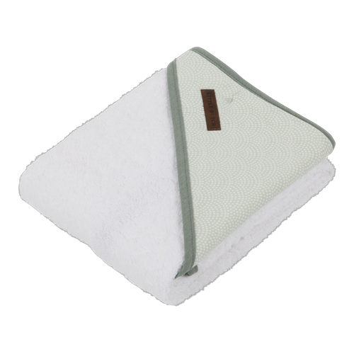 Picture of Hooded towel Mint Waves