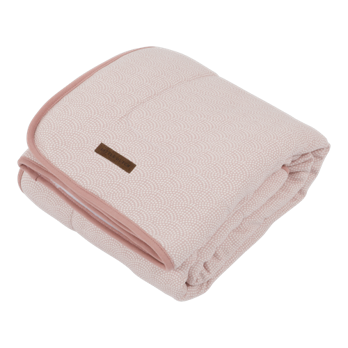 Picture of Cot blanket Pure & soft Pink Waves