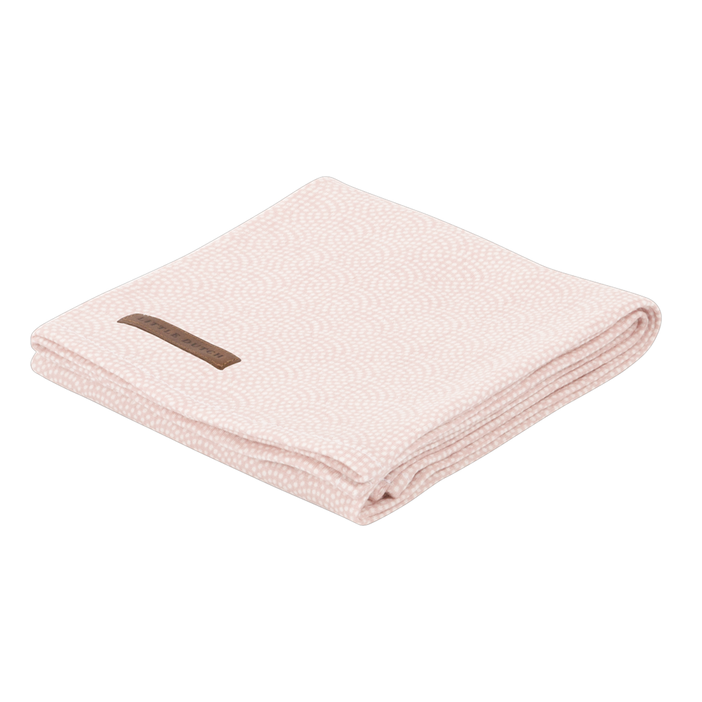Picture of Swaddle 120 x 120 Pink Waves