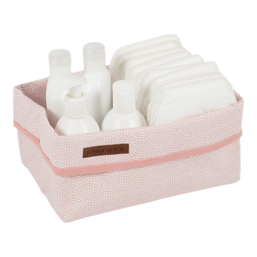 Picture of Storage basket, large Pink Waves