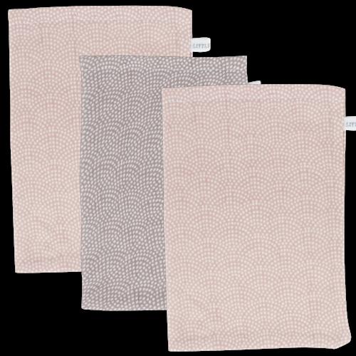 Picture of Washcloths Pink & Mauve Waves (set of 3 pcs.)