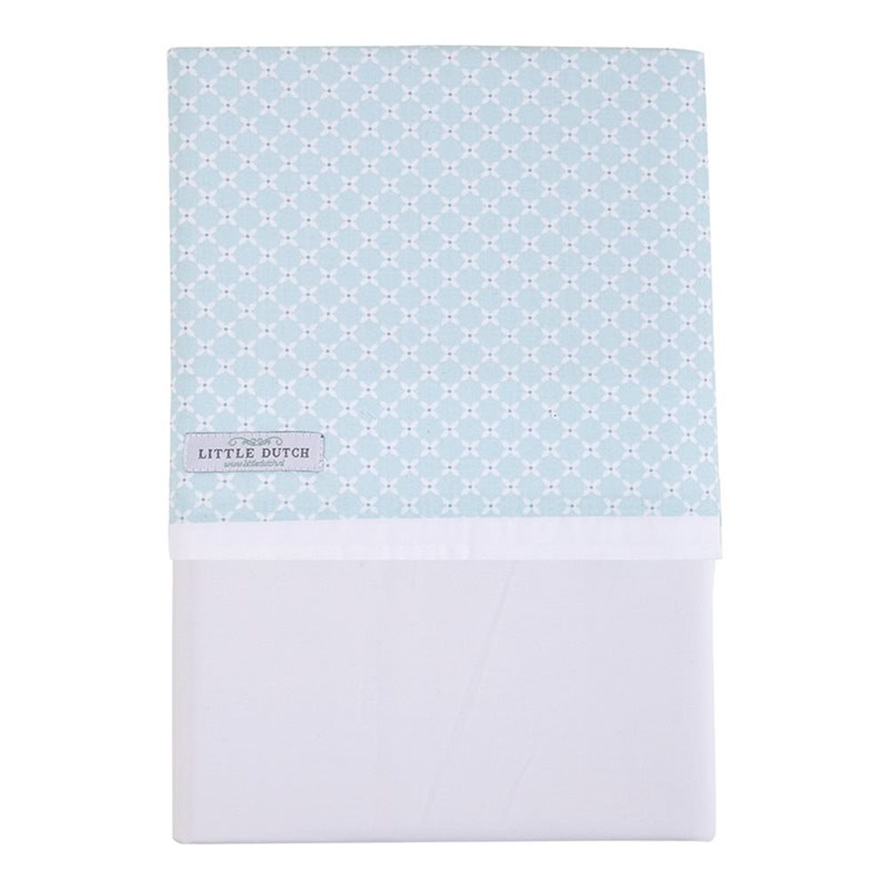 Picture of Cot sheet Sweet Mint