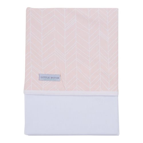 Picture of Cot sheet Peach Leaves