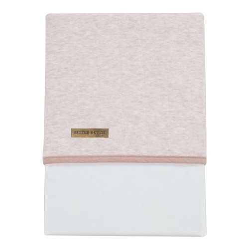 Picture of Cot sheet - Peach Melange