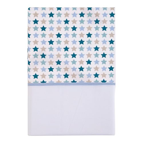 Picture of Bassinet sheet Mixed Stars Mint