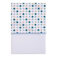 Picture of Bassinet sheet - Mixed Stars Mint