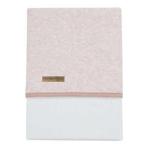 Picture of Bassinet sheet - Peach Melange