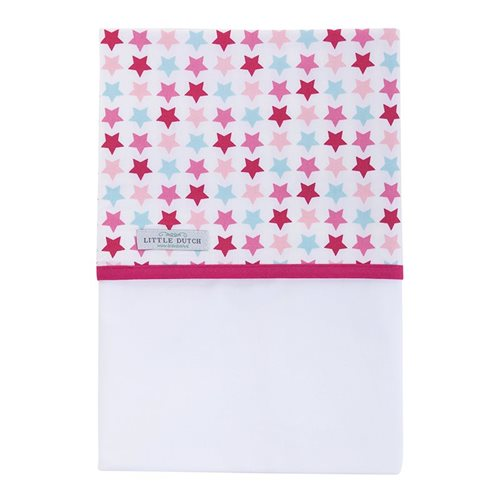 Picture of Bassinet sheet Mixed Stars Pink