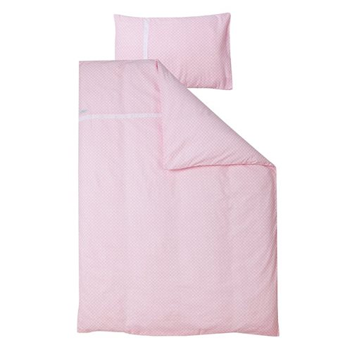 Picture of Cot blanket cover - Sweet Pink