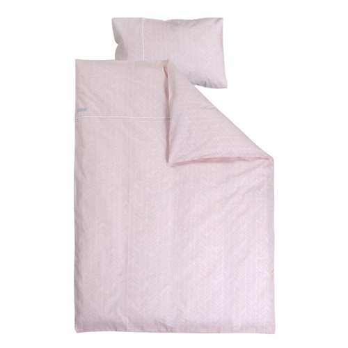 Picture of Cot blanket cover - Peach Leaves