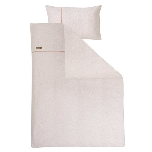 Picture of Cot blanket cover Peach Melange