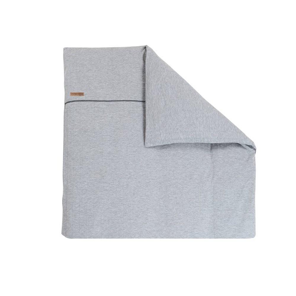 Picture of Bassinet duvet cover Grey Melange