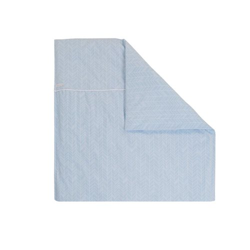 Picture of Bassinet blanket cover - Blue Leaves