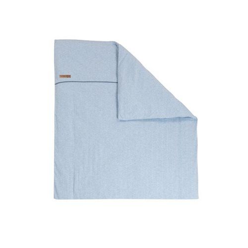 Picture of Bassinet blanket cover - Blue Melange