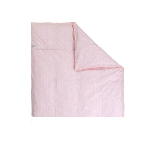 Picture of Bassinet blanket cover Peach Leaves