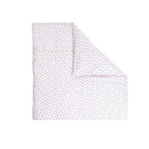 Picture of Bassinet blanket cover - Peach Poppy