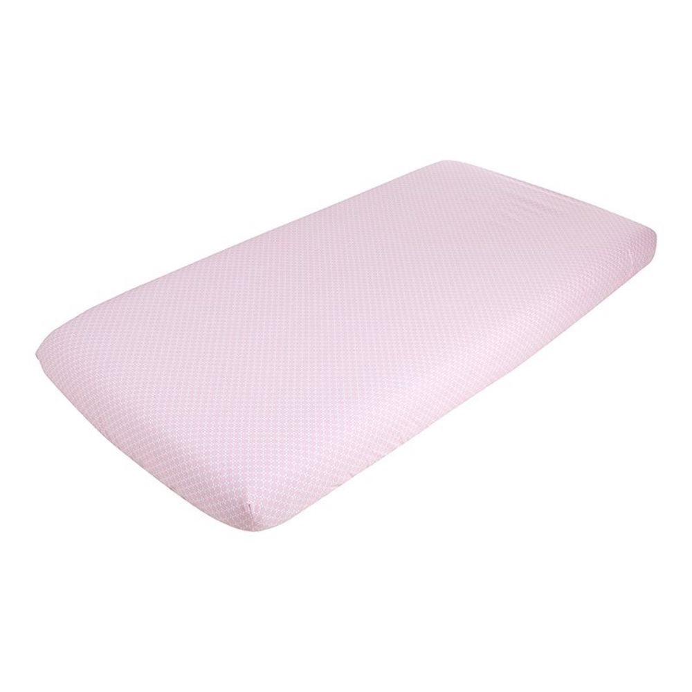 Picture of Fitted cot sheet Sweet Pink
