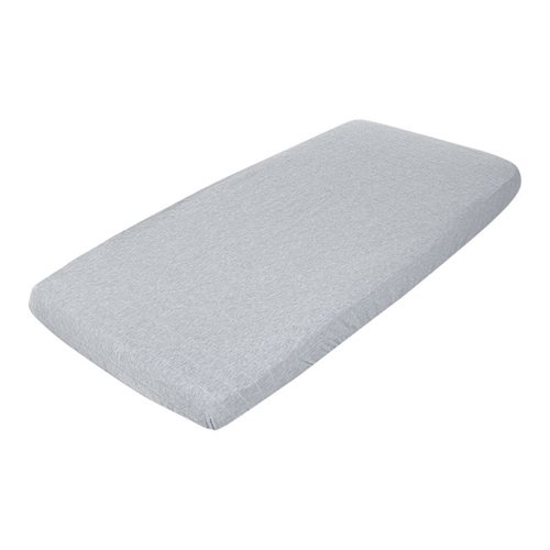 Picture of Fitted cot sheet Grey Melange