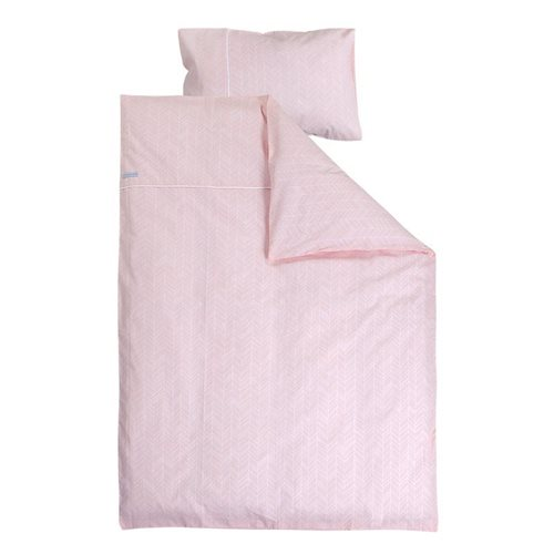 Picture of Single duvet cover - Peach Leaves