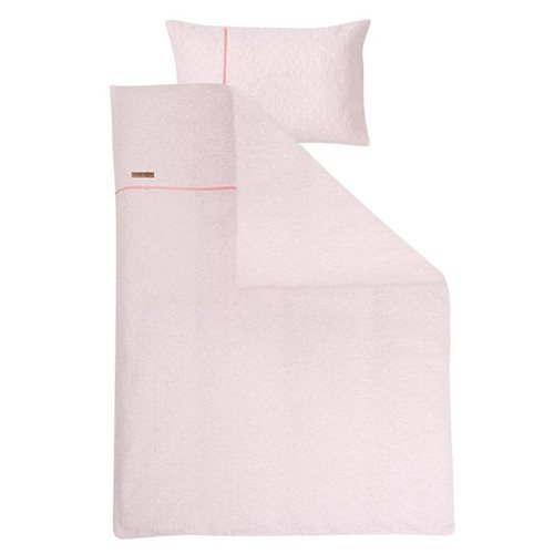 Picture of Single duvet cover - Peach Melange