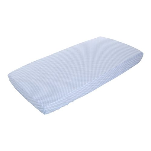 Picture of Single fitted sheet Sweet Blue