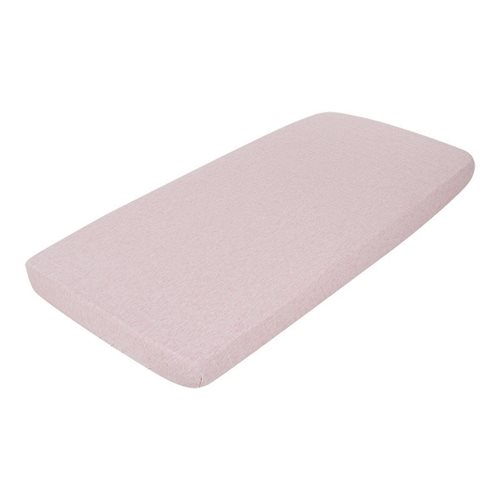 Picture of Single fitted sheet Peach Melange