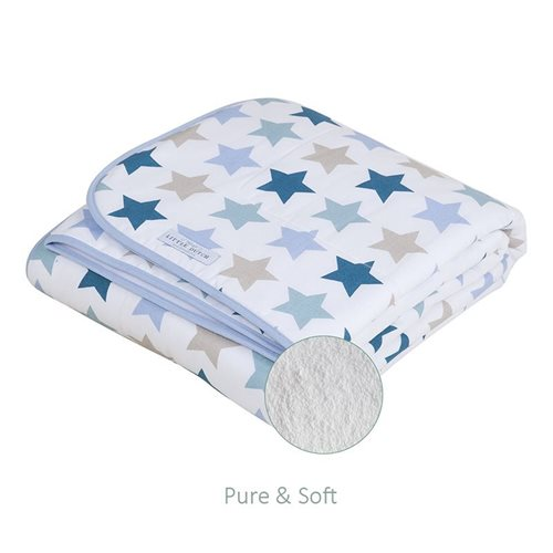 Picture of Bassinet blanket Mixed Stars Mint