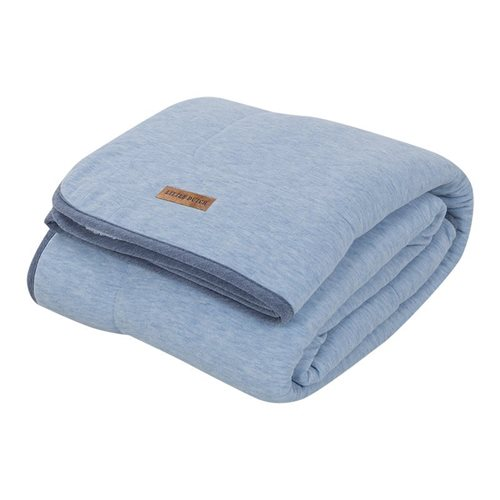 Picture of Bassinet blanket Pure & Soft - Blue Melange