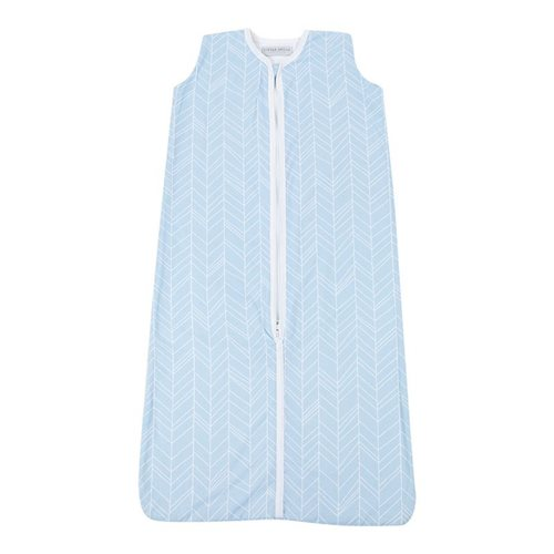 Picture of Summer sleeping bag 90 cm - Blue Leaves