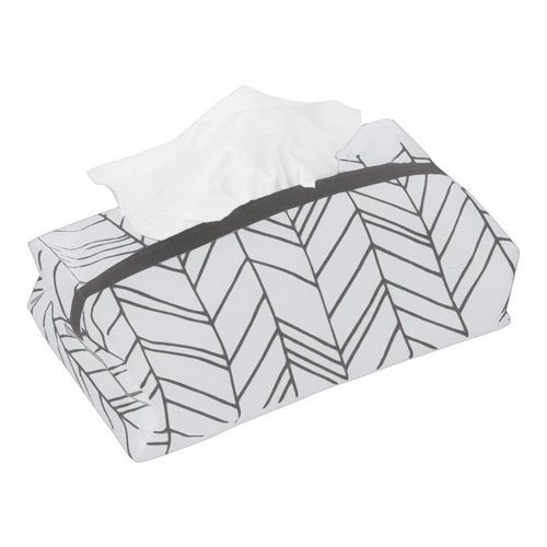 Picture of Baby wipes cover White Leaves