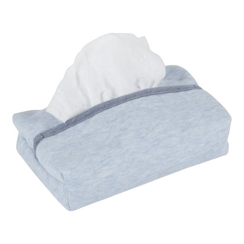 Picture of Baby wipes cover Blue Melange