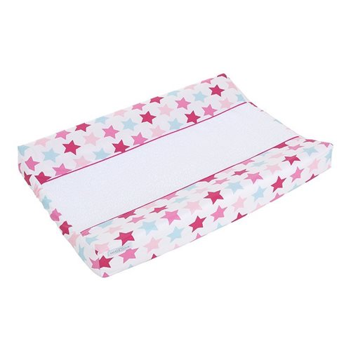 Picture of Changing mat cover Mixed Stars Pink
