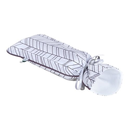 Picture of Hot-water bottle cover - White Leaves