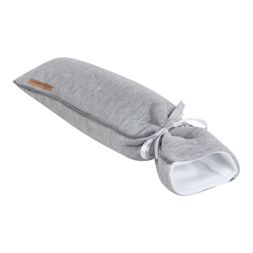Picture of Hot-water bottle cover Grey Melange